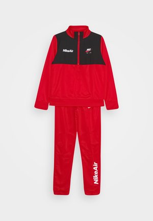 AIR TRACK SUIT SET - Tracksuit - university red/black/white