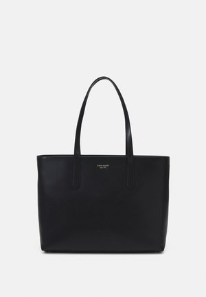 LARGE ZIP TOP WORK TOTE - Tote bag - black