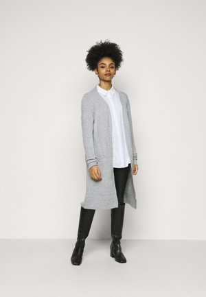 VMBRILLIANT OPEN - Strikjakke /Cardigans - light grey melange