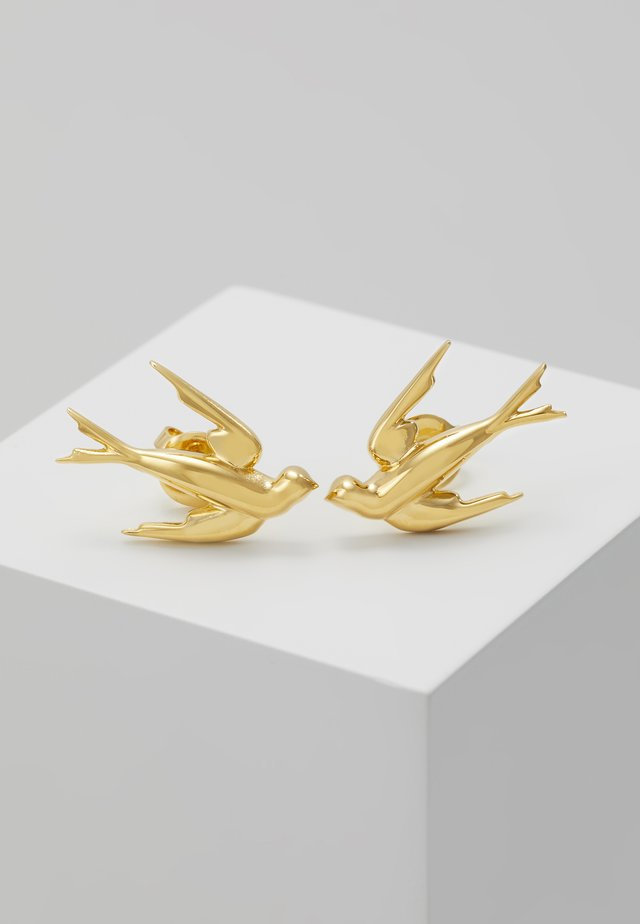SWALLOW EARRING - Korvakorut - gold-coloured
