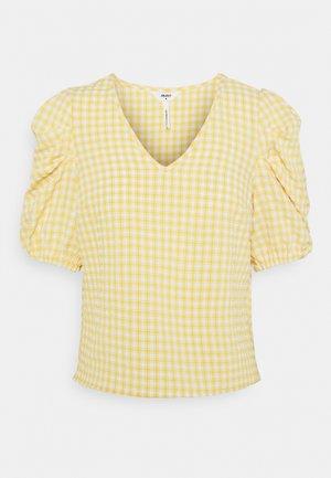 OBJTAMAR  - Print T-shirt - bamboo/sandshell