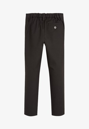 BLACK FORMAL STRETCH SKINNY TROUSERS (3-16YRS) - Trousers - mottled black