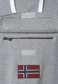 Napapijri - BURGEE SUMMER - Luvtröja - medium grey melange - 4
