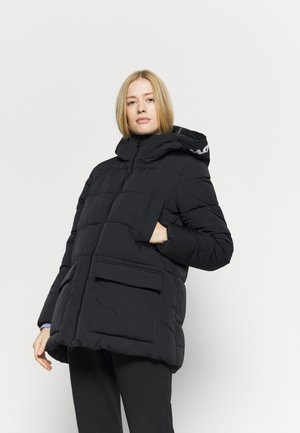 HOODED JACKET ROCHESTER - Zimní bunda - black