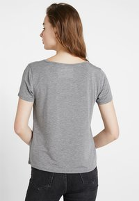 Hollister Co. - SHORT SLEEVE EASY TEE - Jednoduché triko - grey - 2