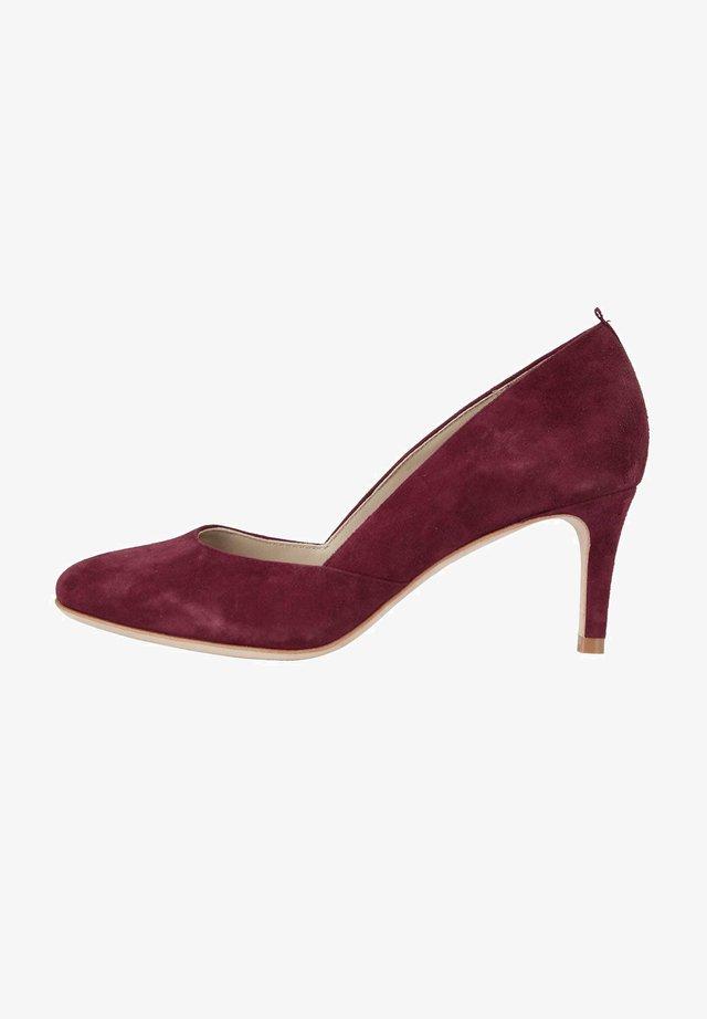 Classic heels - rotbraun