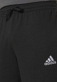 adidas Performance - Korte sportsbukser - black/white - 3