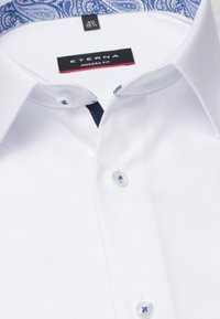 Eterna - FITTED WAIST - Formal shirt - white - 3