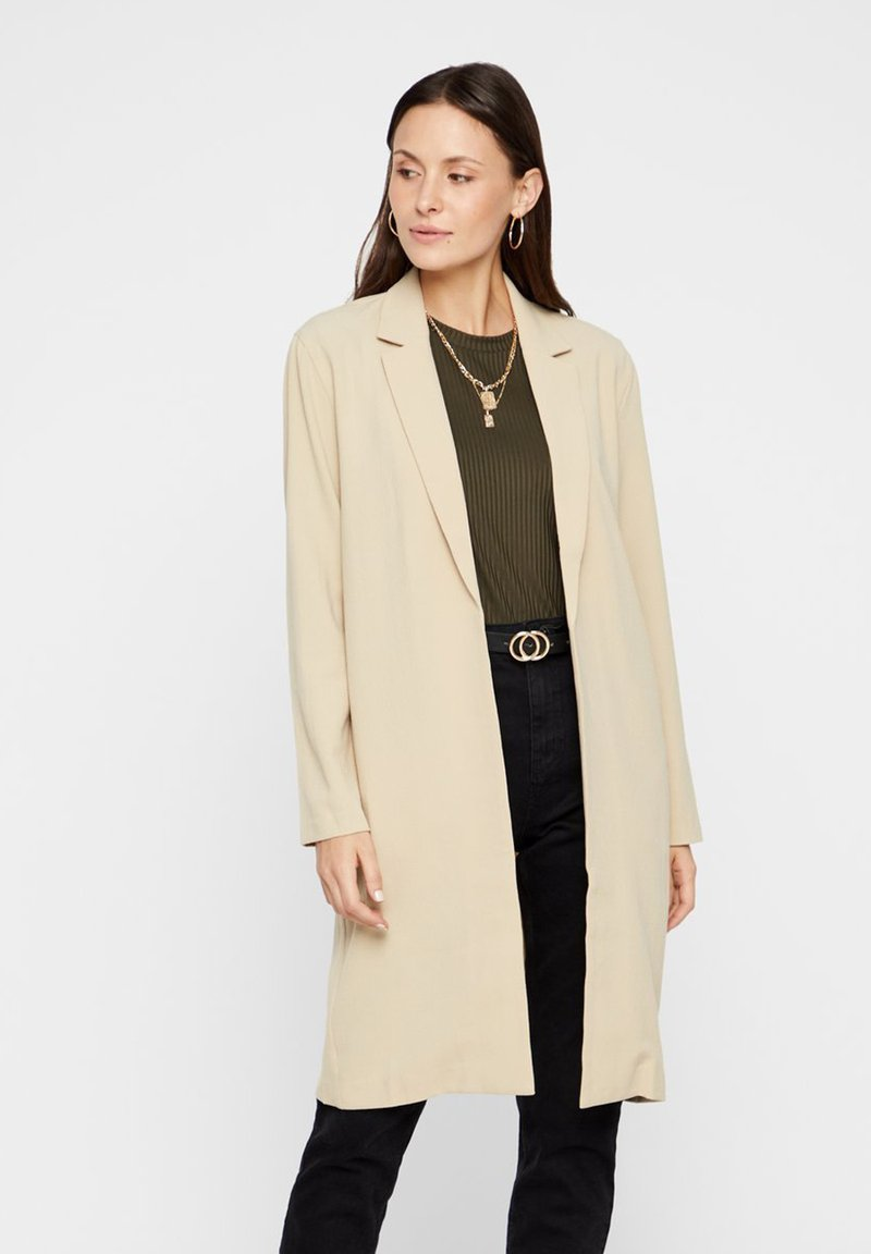 Pieces - Short coat - white pepper