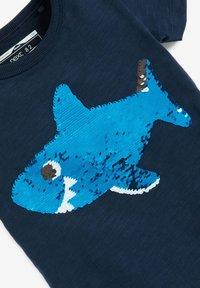 Next - SHORT SLEEVE - Print T-shirt - dark blue - 3