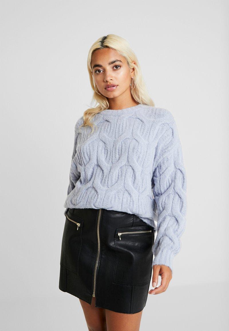Fashion Union Petite - ANODA - Sweter - blue