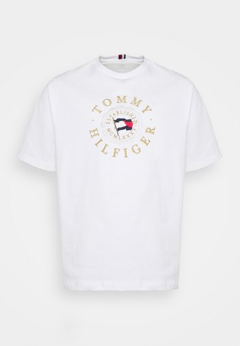 ICON COIN TEE - Print T-shirt - white