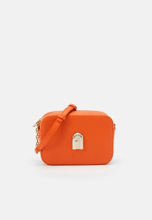 SLEEK MINI CAMERA CASE - Bandolera - orange