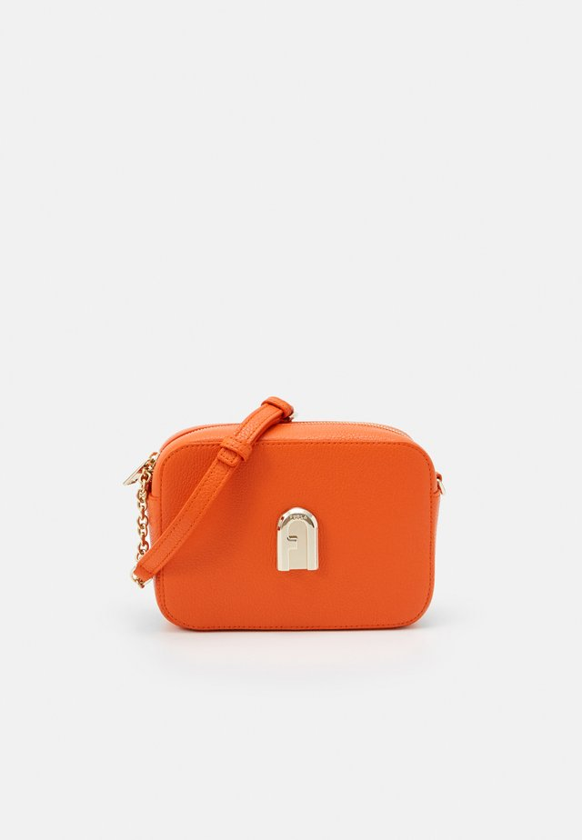 SLEEK MINI CAMERA CASE - Across body bag - orange