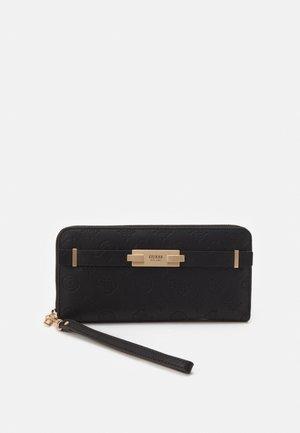 BEA LARGE ZIP AROUND - Wallet - black