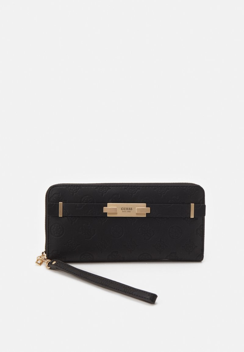 Guess - BEA LARGE ZIP AROUND - Wallet - black