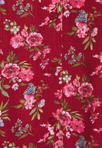 Vila - VICARE - Button-down blouse - burnt henna - 2