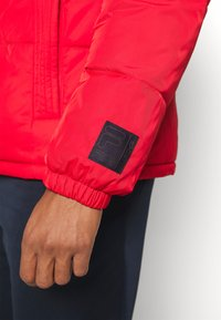 Fila - LANDOLF PUFFED JACKET - Träningsjacka - true red/black iris/bright white - 5