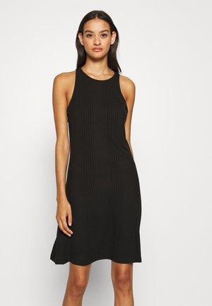 OBJCELIA SHORT DRESS - Day dress - black