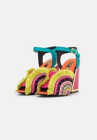 Kat Maconie - ARIEL - High heeled sandals - lagoon/multicolor - 2