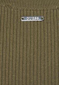 Guess - ALEXA TIE  - Shift dress - khaki - 5