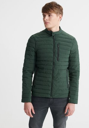SUPERDRY COMMUTER HYBRID BIKER JACKET - Winterjas - deep forest