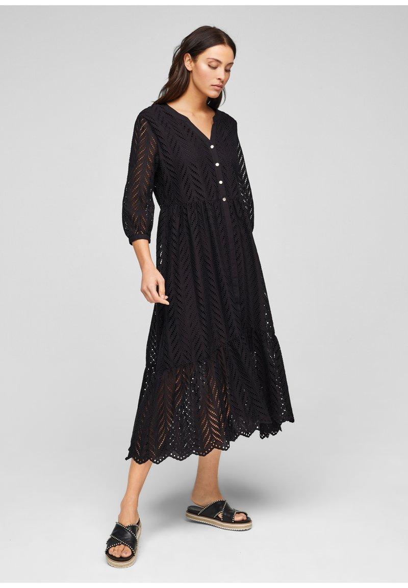 s.Oliver BLACK LABEL - Day dress - true black