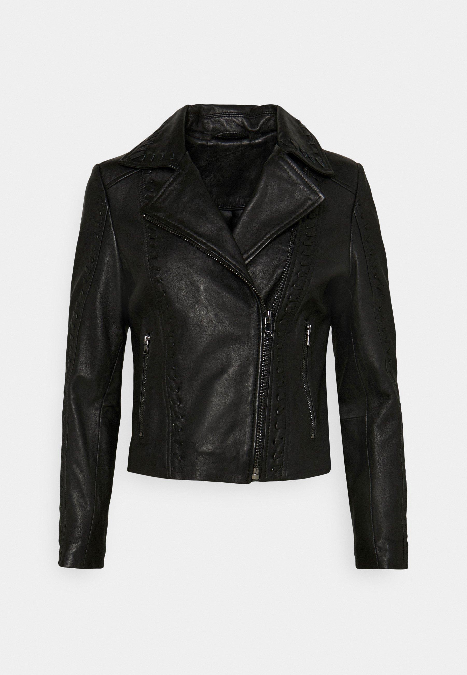 Women BLUTO - Leather jacket