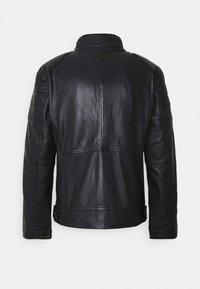 JOOP! Jeans - LIMA - Kožená bunda - dark navy - 7