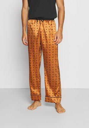 BOTTOM - Pyžamový spodní díl - cognac