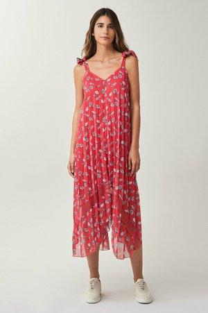 FONTANA - Maxi dress - rosa