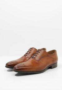 Giorgio 1958 - Elegantní šněrovací boty - ferrara/noce - 2