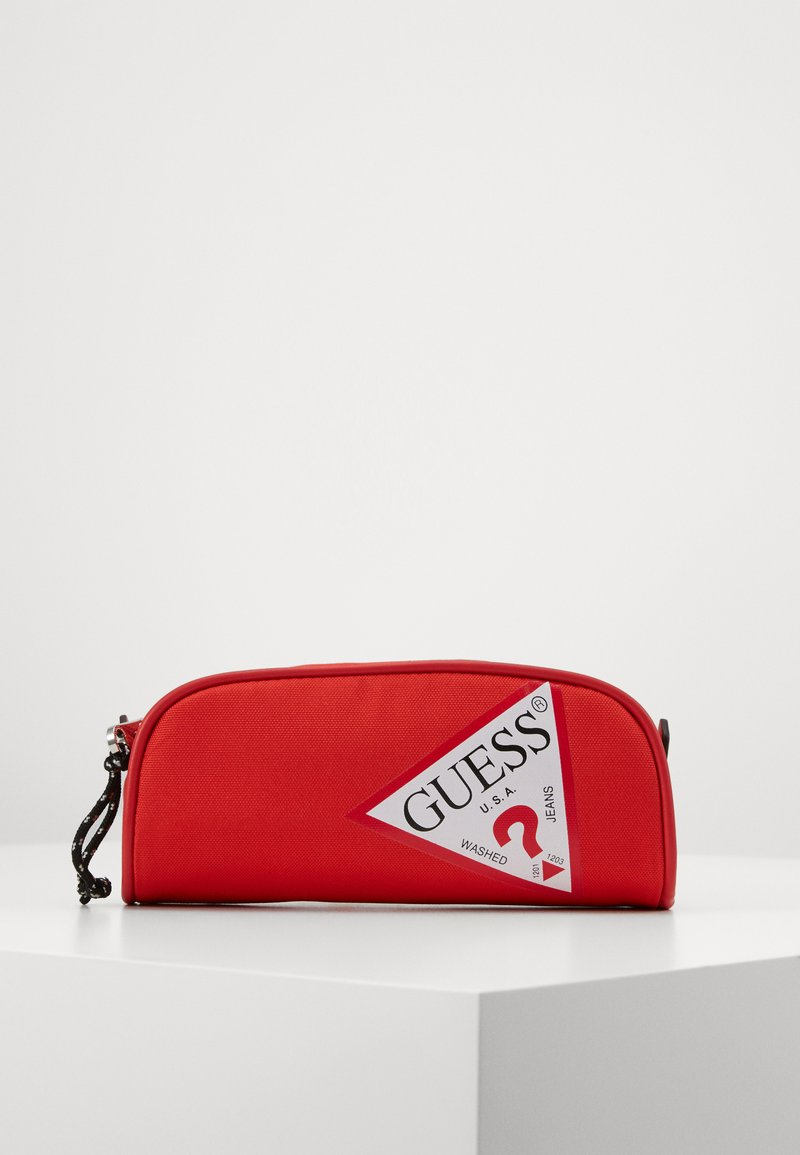 Guess - UNISEX SMALL POUCH - Pencil case - disco pink