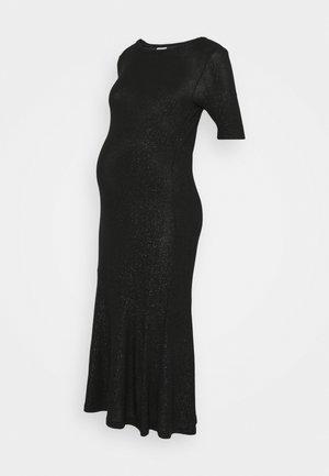 MLADETTE MIDI DRESS - Vestito di maglina - black