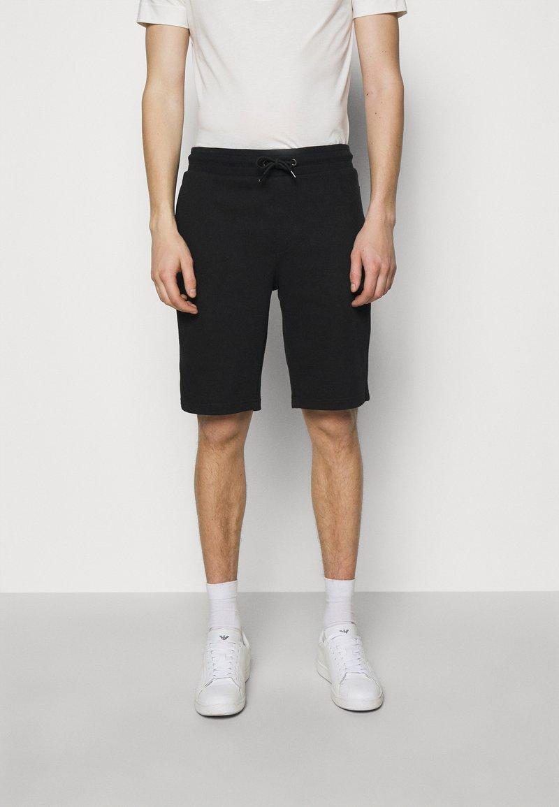 Emporio Armani - BERMUDA - Shorts - black