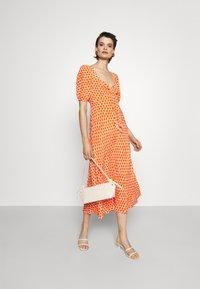 Diane von Furstenberg - TEAGAN DRESS - Day dress - tomato red - 1