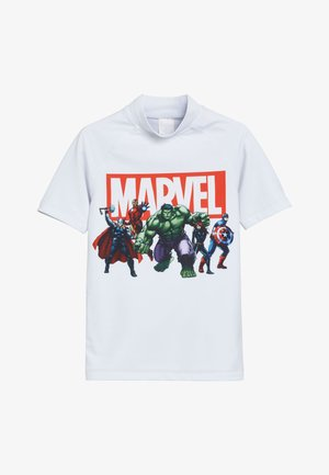 MARVEL - Rash vest - white