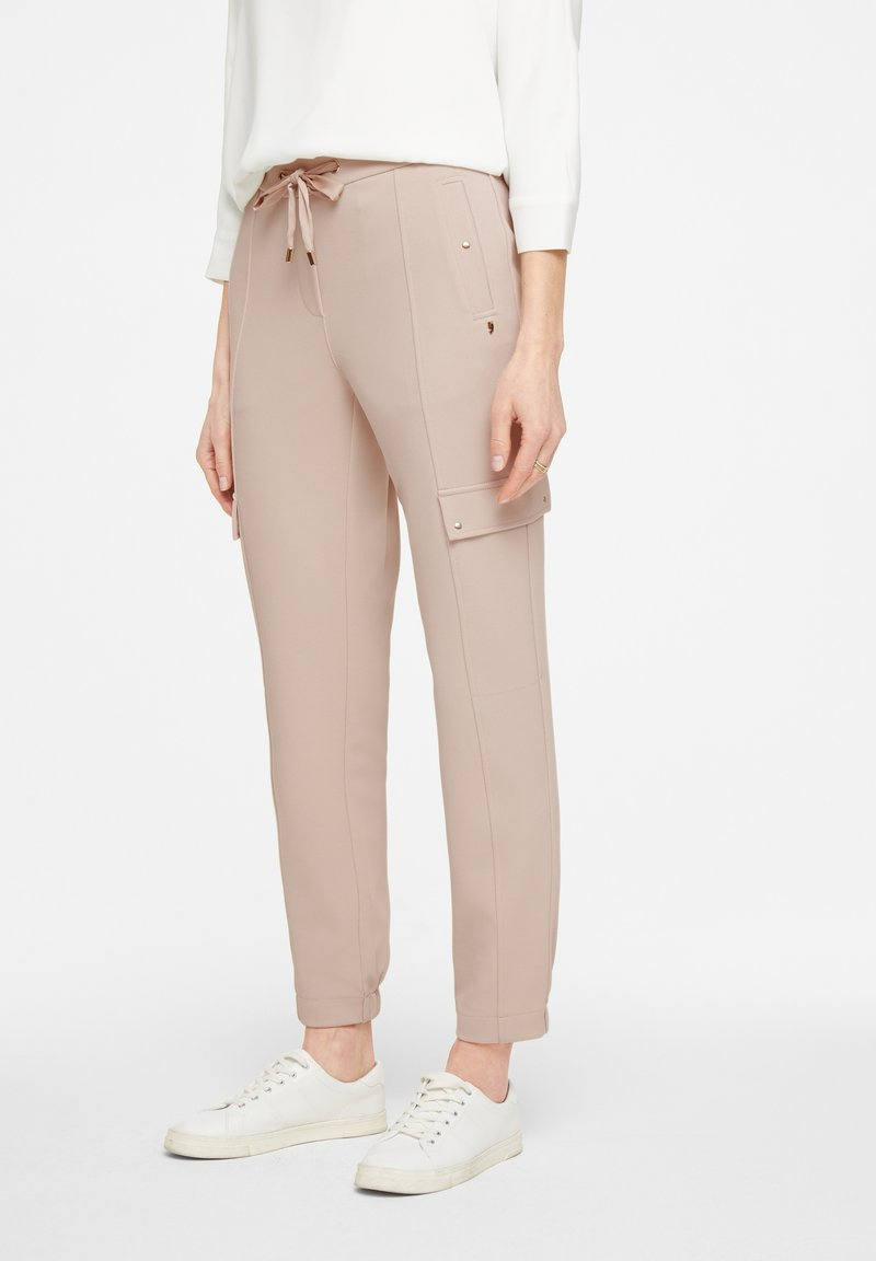 comma - HOSE - Tracksuit bottoms - sand