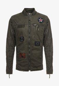 Be Edgy - BE THEO PAT - Denim jacket - khaki - 5
