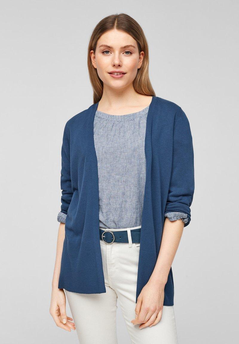 s.Oliver - Vest - faded blue