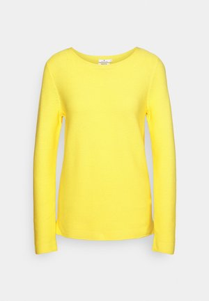 SWEATER NEW OTTOMAN - Jumper - smooth yellow