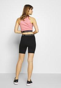 Calvin Klein Jeans - MILANO CYCLING - Shorts - black - 2