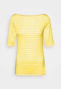GAP - BOATNECK - Print T-shirt - yellow - 0