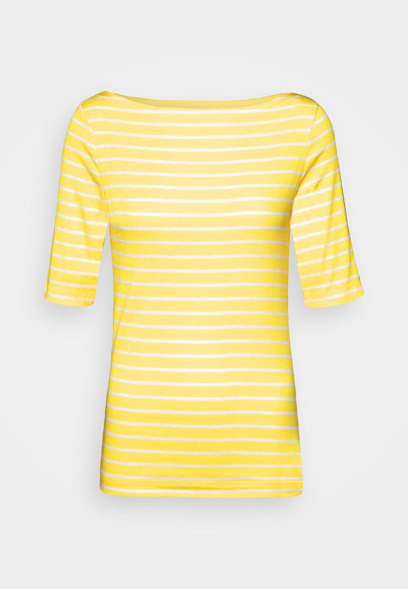 GAP - BOATNECK - Print T-shirt - yellow