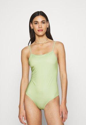KARI - Swimsuit - tarragon
