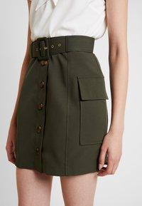 River Island - Mini skirt - khaki - 4
