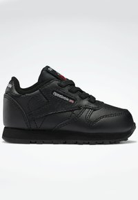 Reebok Classic - CLASSIC LEATHER SHOES - Baby shoes - black - 4