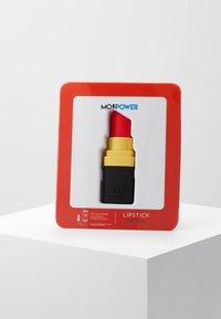mojipower - LIPSTICKEXTERNAL BATTERY - Power bank - black - 5