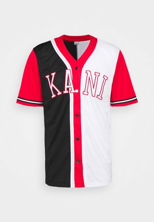 COLLEGE BLOCK BASEBALL SHIRT - Camicia - black