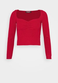 Fashion Union Petite - JESSICA - Pullover - red - 4